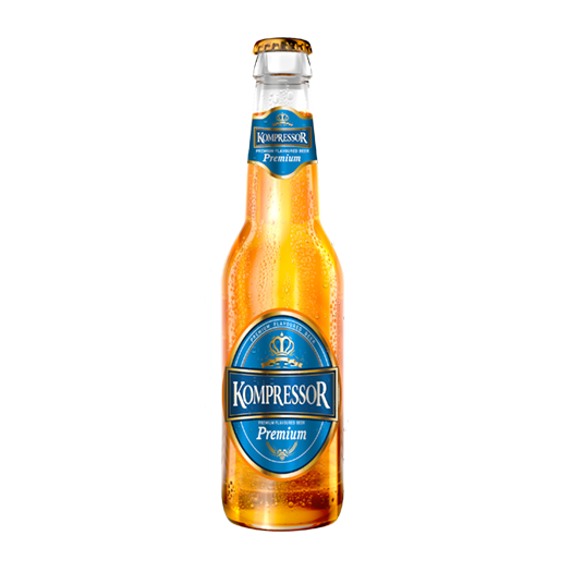 kompressor-beer-premium-botle